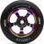 Atom Pro 2017 - 110mm - Neo Chrome/Black - Scooter Wheel