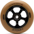 Atom Pro 2017 - 110mm - Black/Gum - Scooter Wheel