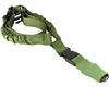 Aim Sports Bungee Sling - Single Point - Green (AOPS01G)