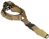 Aim Sports Bungee Sling - Single Point - Tan (AOPS01T)