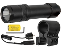 Aim Sports Pressure Switch Activated Flashlight - 200 Lumens (FM200S)