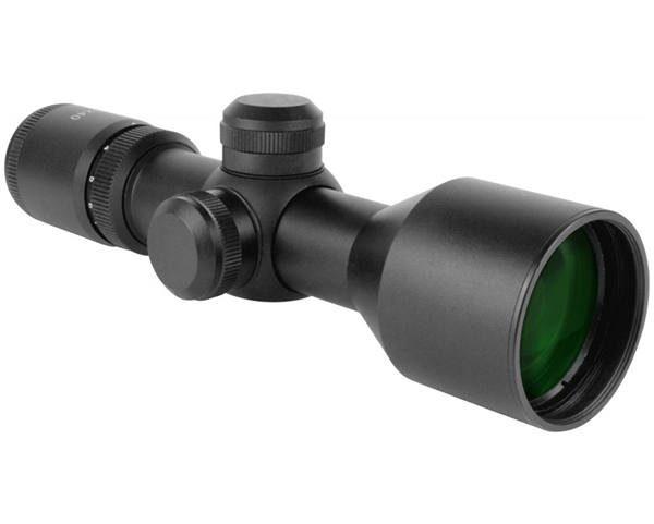 Aim Sports 3-9x40mm Compact Scope w/ P4 Sniper Reticle - Tactical Series (JT3940G)