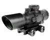 Aim Sports 4x32mm Gun Scope w/ Rapid Ranging Reticle - Prismatic Series (JTDPR432G-N)