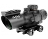 Aim Sports 4x32mm Gun Scope w/ Rapid Ranging Reticle - Recon Series (JTDSR432G)