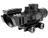 Aim Sports 4x32mm Gun Scope w/ Rapid Ranging Reticle - Recon Series (JTDTRQ432G)