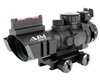 Aim Sports 4x32mm Gun Scope w/ 3/4 Reticle - Prismatic Series (JTHFO432G)