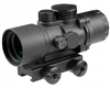 Aim Sports 3x36mm Rifle Scope w/ 3/4 Circle Reticle - Recon Series (JTTD332G)