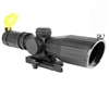 Aim Sports 3-9x42mm Compact Scope w/ Range Finder Reticle - Armored Series (JTXSDR3942G)