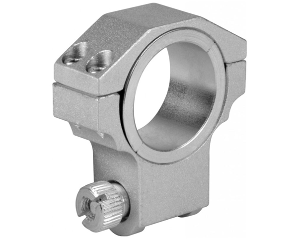 "Aim Sports Silver Ruger Ring - 30mm - High w/ 1"" Insert (QRS02)"