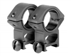 "Aim Sports Weaver Rings - 30mm - Medium w/ 1"" Insert (QW30M)"
