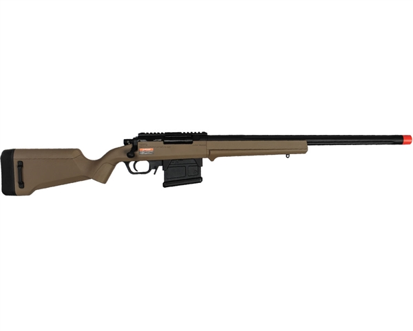 Amoeba Bolt Action Airsoft Rifle - AS-01 Striker Gen 5 - Dark Earth