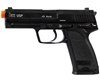 H&K Blowback Gas Airsoft Pistol - USP Competition - Black