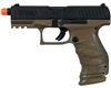 Walther Tactical Blowback Gas Airsoft Pistol - PPQ - Dark Earth