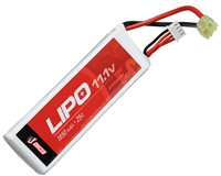Echo 1 Airsoft Lipo Battery - 11.1v 1650mah 25c (#2)