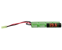 Valken Energy Airsoft Battery - 9.6V NiMH 1600mAh - Nunchuck