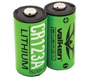 Valken Energy Battery - CR123A 3V Lithium (2 Pack)