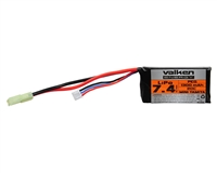 Valken Energy Airsoft Battery - 7.4V 1300mAh LiPo - PEQ-15