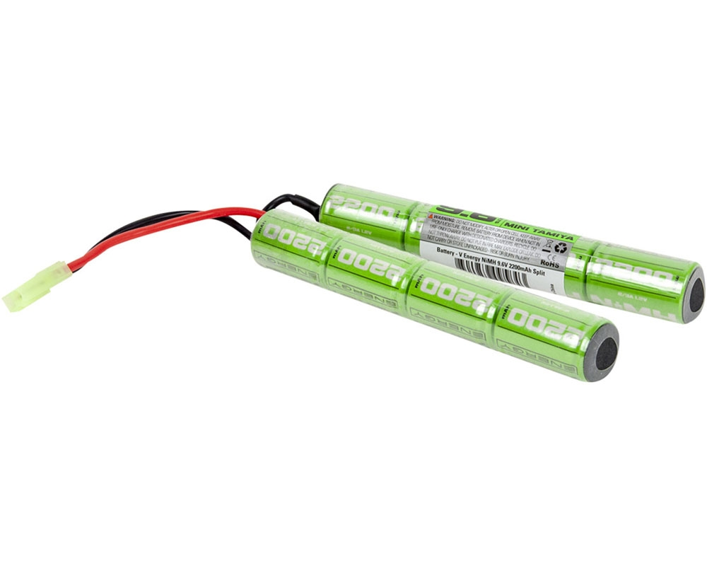 Valken Energy 9.6V Battery /& Charger Combo New For Airsoft