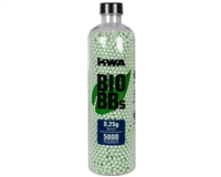 KWA Biodegradable Airsoft BB's - .25g - 5,000 Rounds