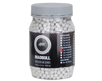 Mad Bull .30g Airsoft BB's - 2,000 Rounds