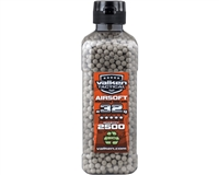 Valken .32g Airsoft BB's Bio - 2,500 Count - White