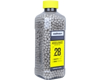Valken .28g Airsoft BB's Accelerate - 2500 Count - White (93436)