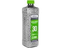 Valken .30g Airsoft Bio BB's Accelerate - 5000 Count - White (93467)
