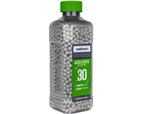 Valken .30g Airsoft BB's Accelerate - 2500 Count - White (93474)