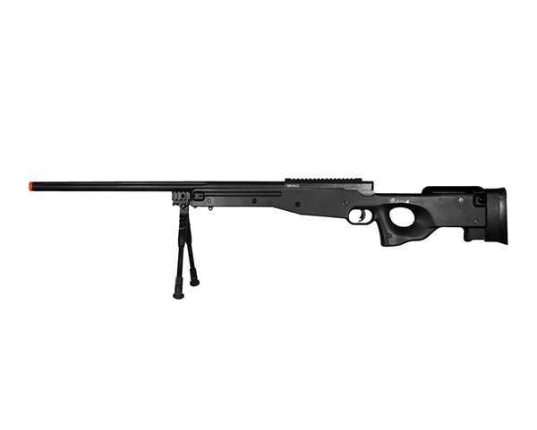 Bravo MK98 Bolt Action Airsoft Sniper Rifle - Black