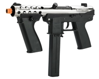 Echo 1 AEG Electronic Airsoft Gun - General Assault Tool (GAT) - Chrome (JP123)