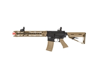 Valken AEG Electronic Airsoft Gun - Battle Machine TRG-L V2 - Black/DST