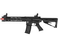 Valken AEG Electronic Airsoft Gun - Battle Machine TRG-M V2 - Black/Black