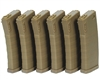 KWA Airsoft Magazine - M4/M16 (Mid Cap) (120 Rounds) - Flat Dark Earth (6-Pack)