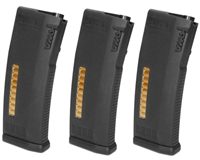KWA Airsoft Magazine - MS120C Adjustable ERG/AEG 2.5/AEG 3 Mid-Cap (3-Pack)
