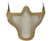 Protective Strike Steel 1G Airsoft Mask - Tan