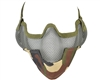 Protective Strike Steel 3G Airsoft Mask w/ Ear Protectors - Jungle Camo