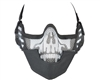 Protective Strike Steel 3G Airsoft Mask w/ Ear Protectors - Skull