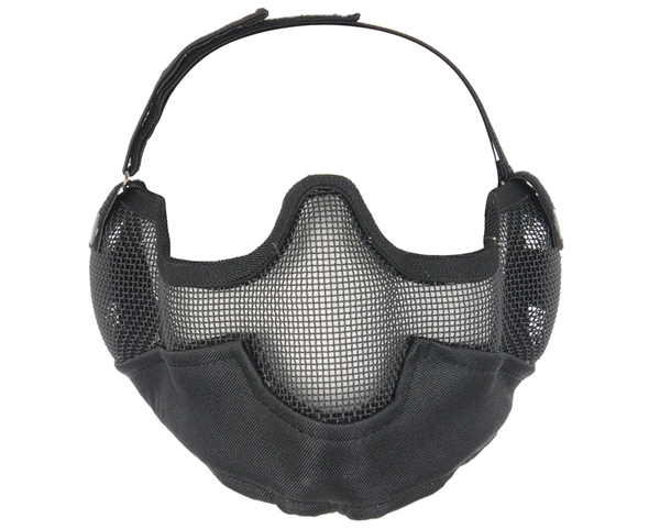 Bravo Protective Strike Steel V2 Airsoft Mask - Black
