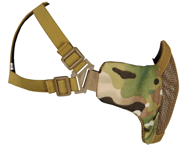 Bravo Protective Strike Steel V3 Airsoft Mask - Multicam