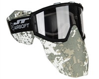 JT Delta 2 Airsoft Mask Face Protection - Digi Camo