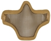 Bravo TacGear Strike Steel V1 Airsoft Mask - Tan