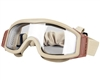 Valken Tango Airsoft Goggles w/ Thermal Lens - Tan