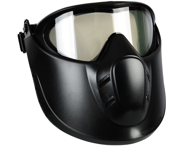 Valken VSM Airsoft Mask - Black/Clear