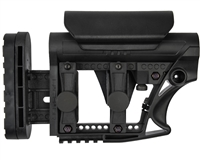 Luth-AR Carbine Buttstock - MBA-3 - Black