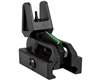 Valken Folding Front Sight - Black/Neon