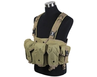Defcon Gear Airsoft Vest - 600 Denier AK Belly Rig - FDE