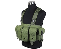 Defcon Gear Airsoft Vest - 600 Denier AK Belly Rig - OD