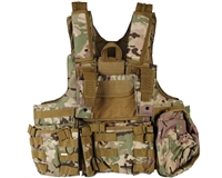 Defcon Gear Airsoft Vest - 900 Denier Complete CFR Carrier - Multicam