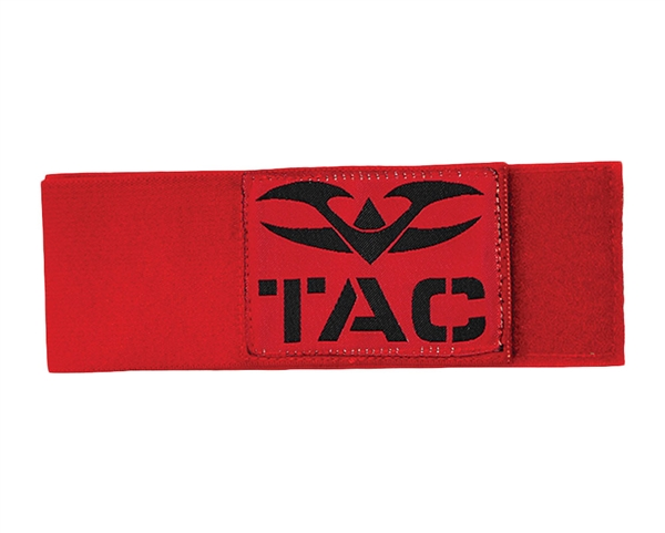 Valken Velcro Team Arm Band - Red