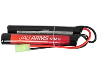 Jag Arms Airsoft Battery - 9.6V 1600mAh NiMH - Nunchuck Style